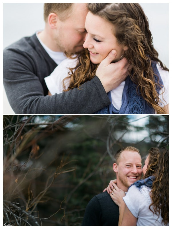 Bragg Creek engagement photographer