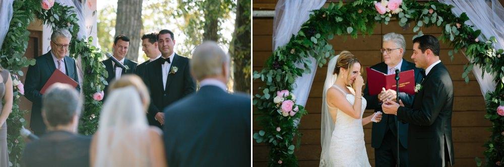 Fish Creek Park wedding