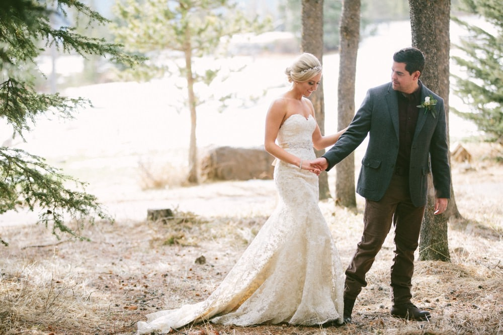 wedding photographers in Canmore