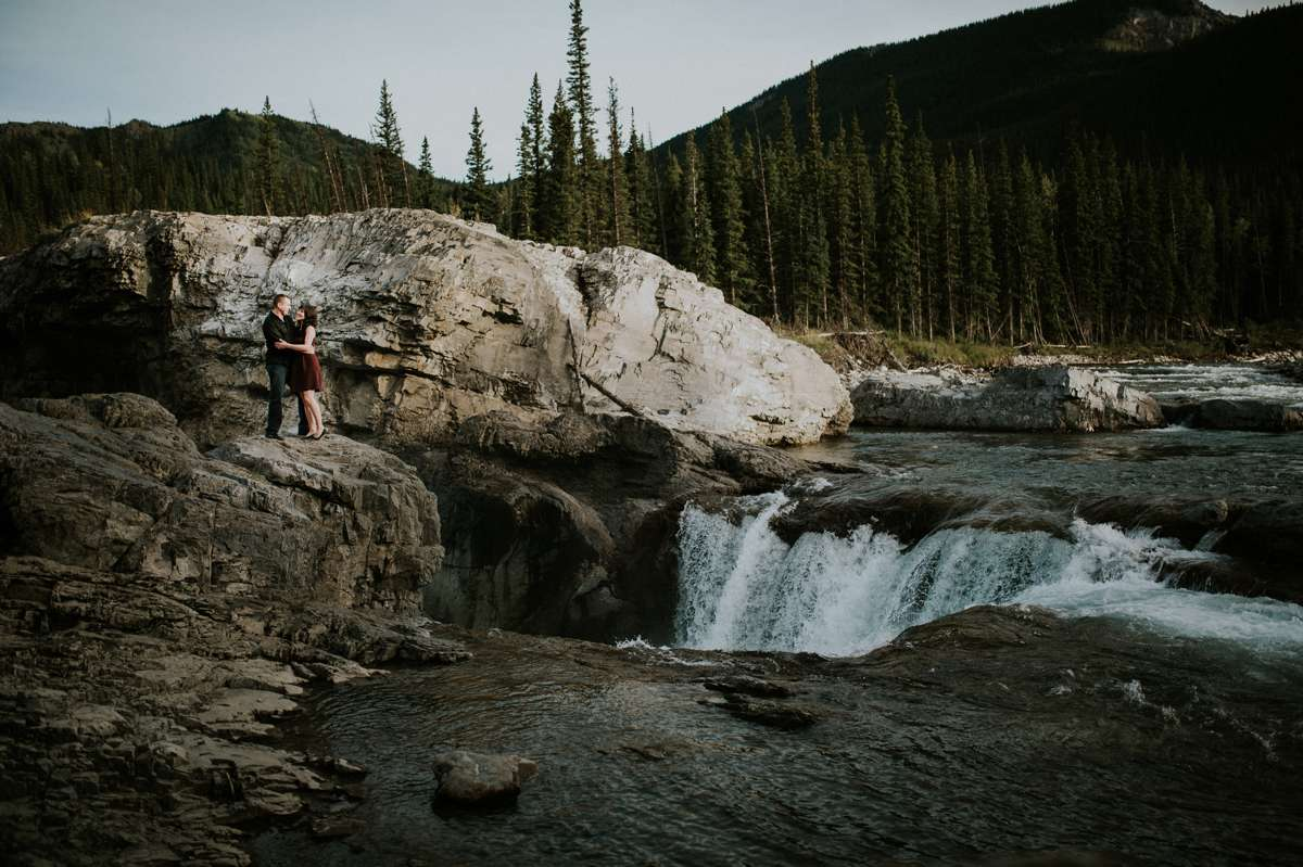 Elbow Falls engagement