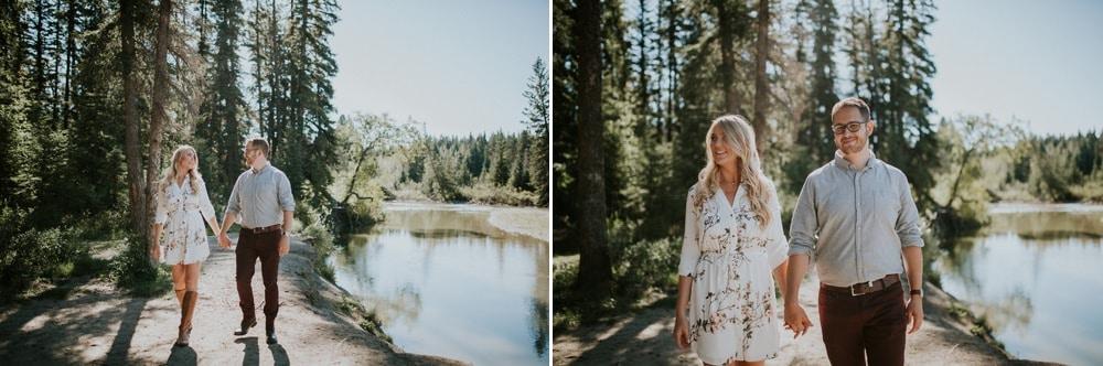 Fish Creek Park Engagement Photographer