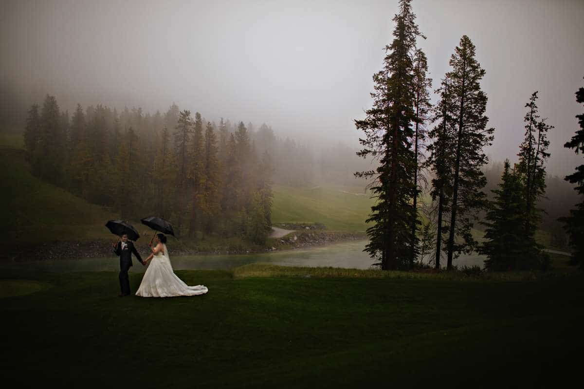 Silvertip Resort Canmore Wedding Photographer