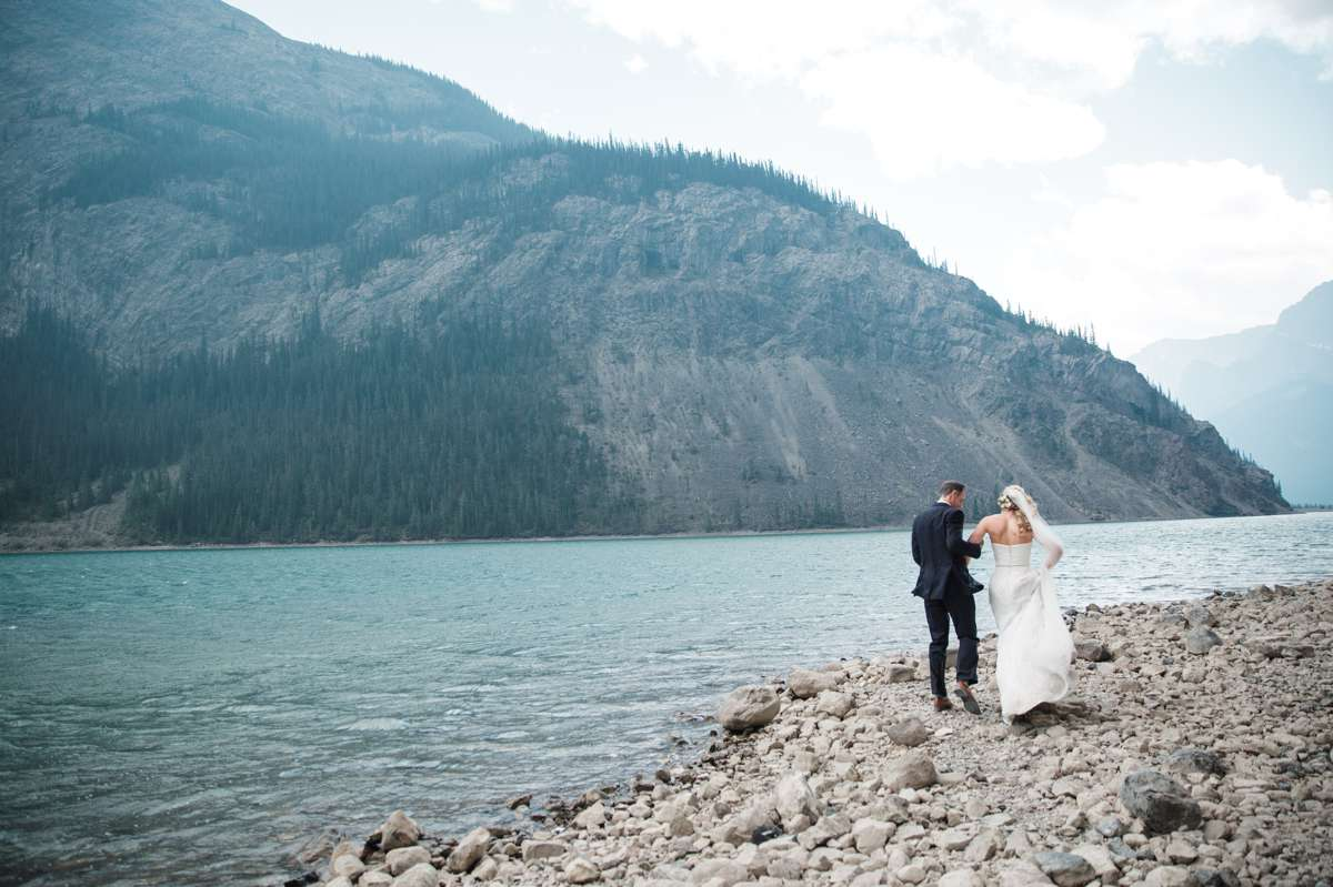 Canmore Weddings at Quarry Lake park