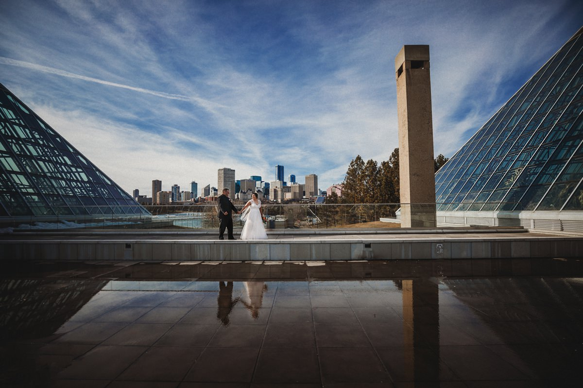 Muttart Conservatory Wedding