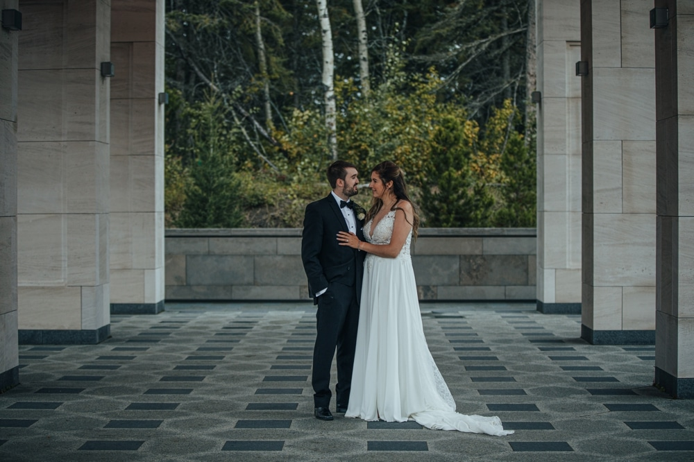 University of Alberta Botanic Garden Wedding Photographer