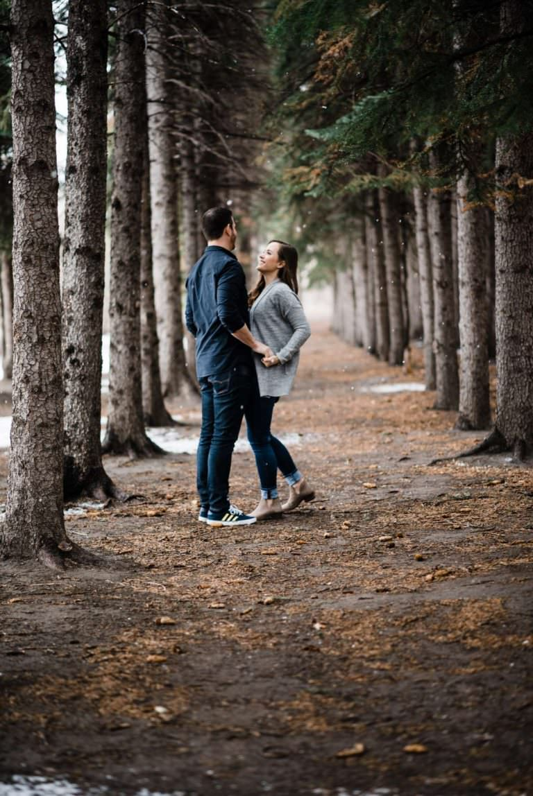 Edworthy Park Engagement