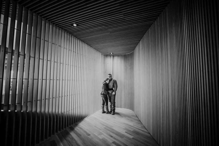 Calgary Central Library Engagement Photography