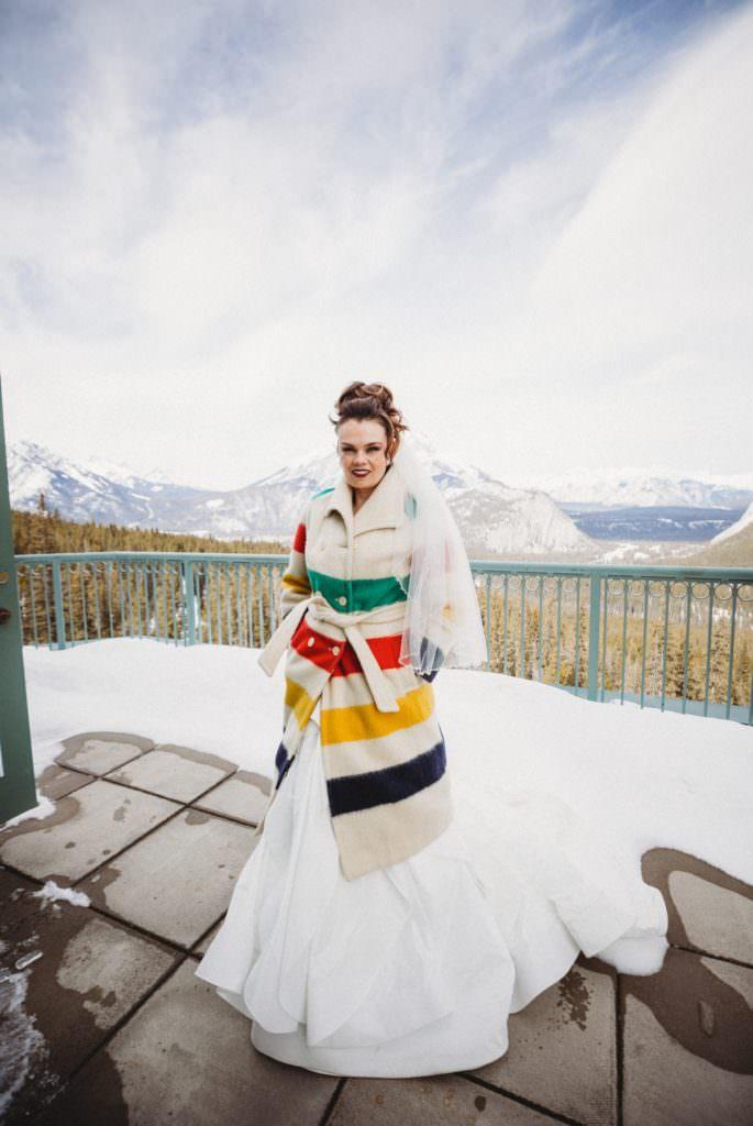 Rimrock Hotel Wedding in Banff