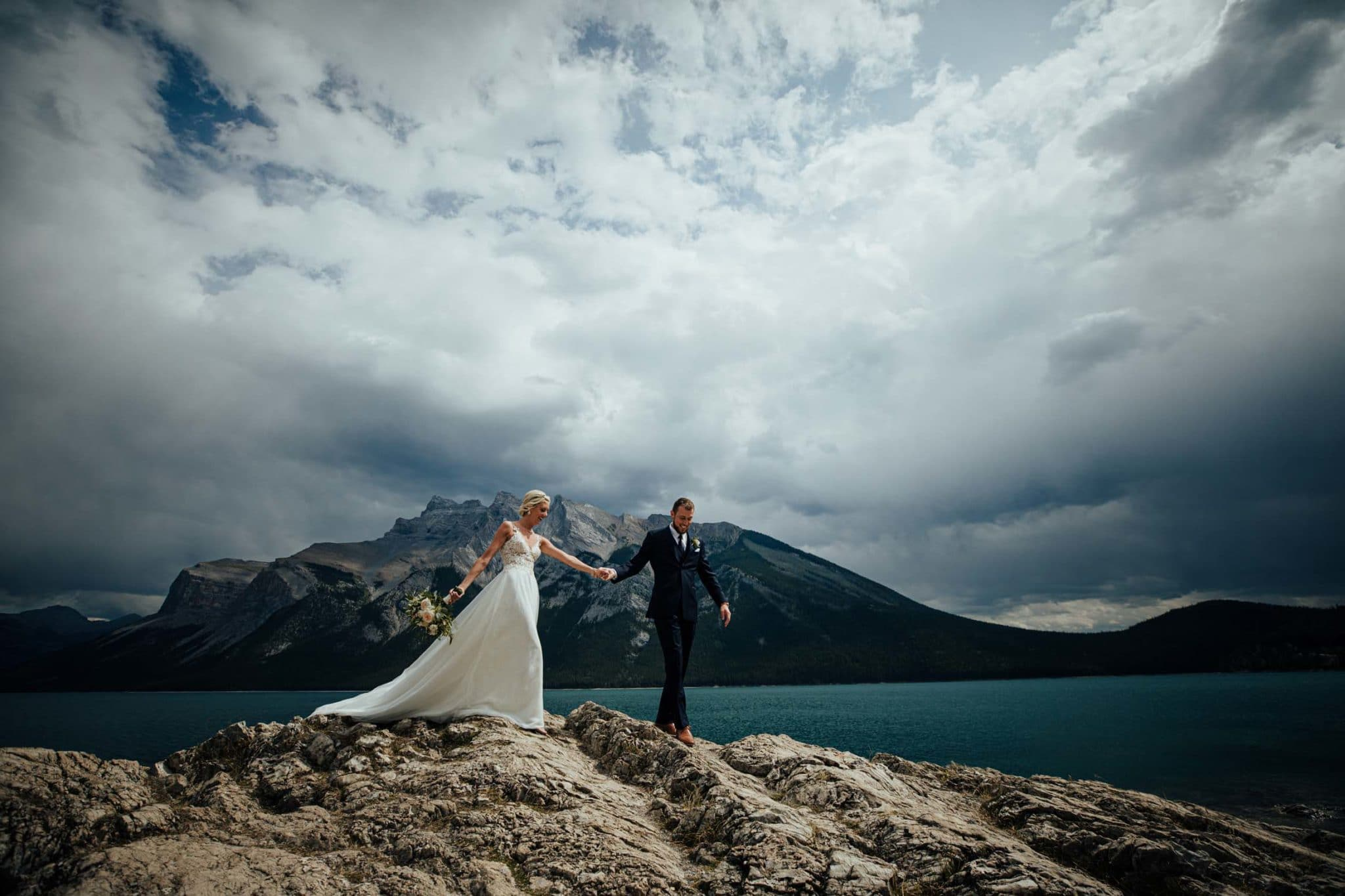Lake Minnewanka Wedding