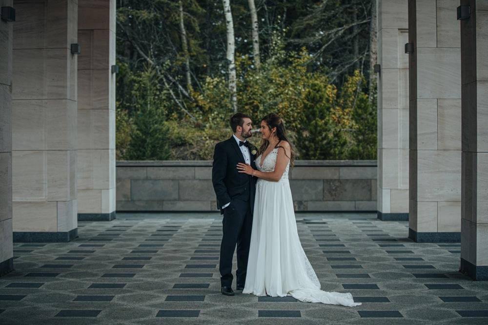 University of Alberta Botanic Garden Wedding Photographer