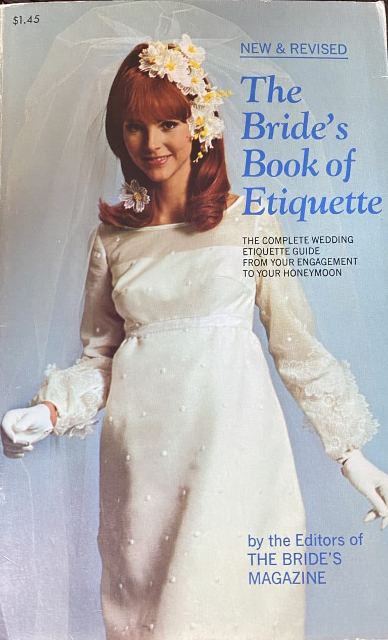 The Bride's Book of Etiquette 1968