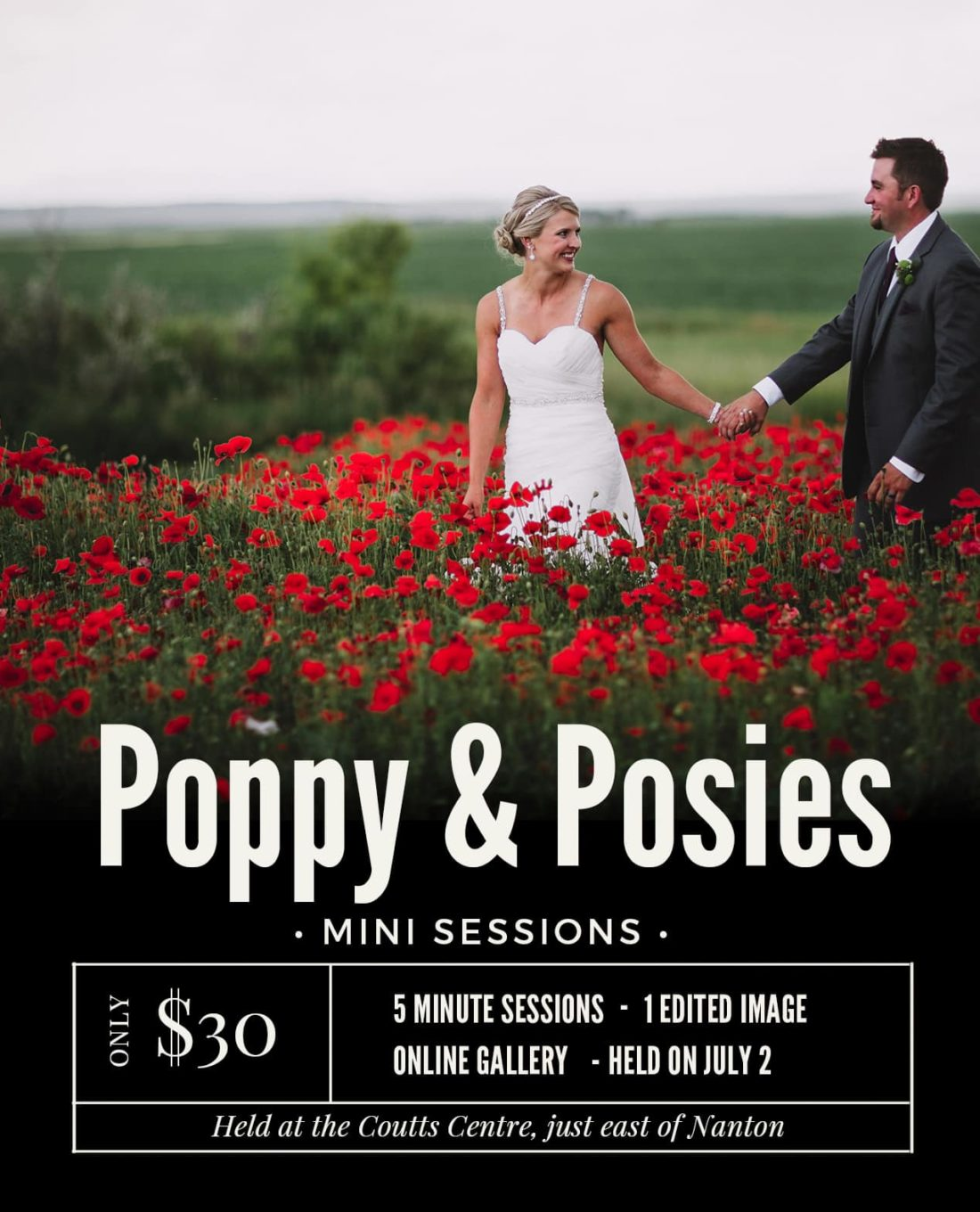 Poppy and Posies Mini Sessions
